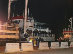 360 Migrants Leave From Italy's Second 'Ghost Ship'