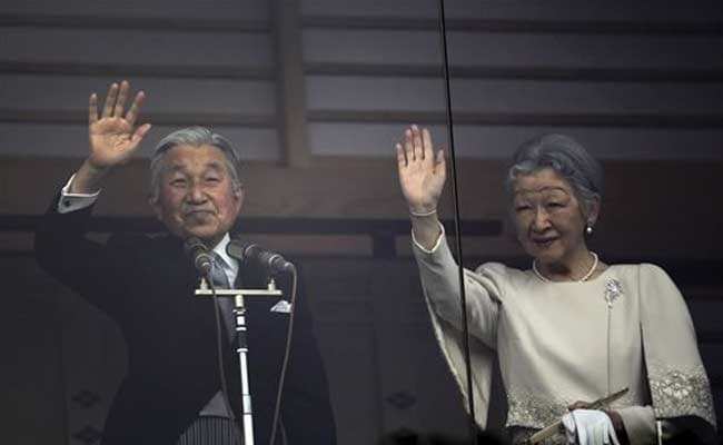 Japanese Emperor Greets New Year Well-Wishers