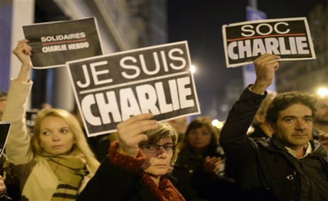 'Je Suis Charlie' Message Goes Viral After Paris Attack
