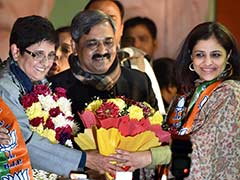 After Colossal Defeat, BJP's Shazia Ilmi Meets Kiran Bedi