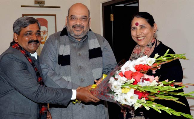 Former Congress Union Minister Krishna Tirath Joins BJP, Leaves Party Stunned