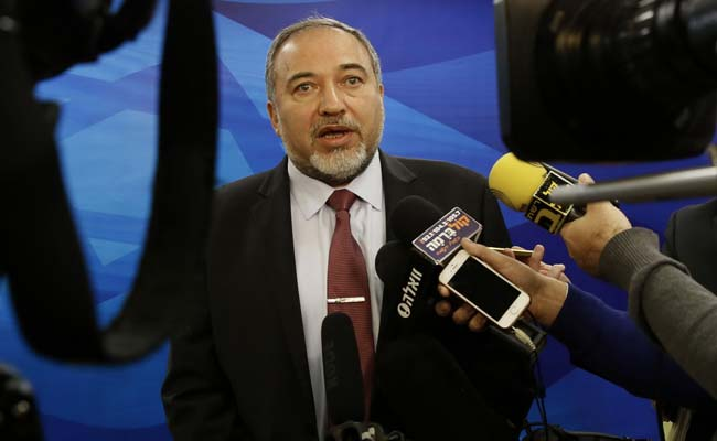 Israel's Foreign Minister Avigdor Lieberman Says Won't Join New Government