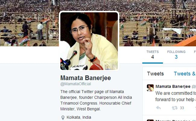 Mamata Banerjee Makes 'New Beginning' on Twitter