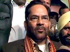 Union Minister Mukhtar Abbas Naqvi to Present Chadar at Ajmer Sharif on Behalf of PM Modi