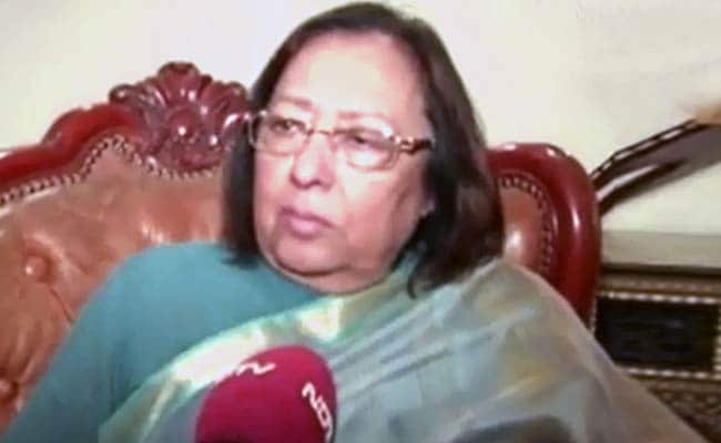 Union Minister Najma Heptullah's Stand on Muslim Reservation Upsets Minority Community