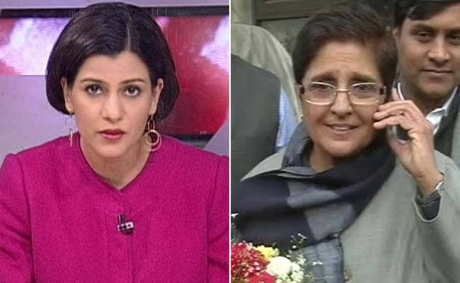 Want Direct Fight With Arvind Kejriwal, Says Kiran Bedi to NDTV