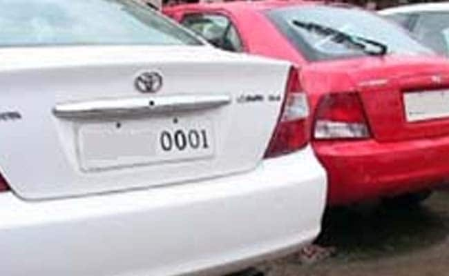 How Much Would You Pay for 0001 on Your Number Plate?