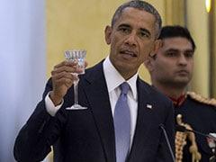 At Banquet, Obama Talks of 'Dosti' and 'Modi Kurta'