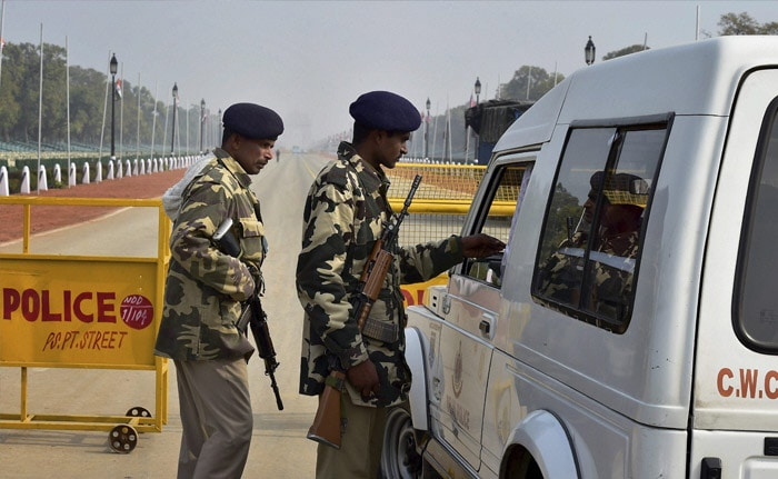 10,000 Paramilitary Personnel Deployed In Delhi Ahead Of Republic Day