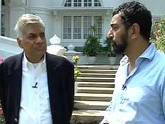 Sri Lankan Prime Minister Ranil Wickramasinghe's Interview to NDTV: Full Transcript