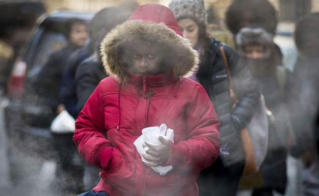 Sub-Zero Winds Grip Central and Eastern US, Schools Close