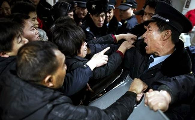 Chaos and Screams at Shanghai New Year Stampede