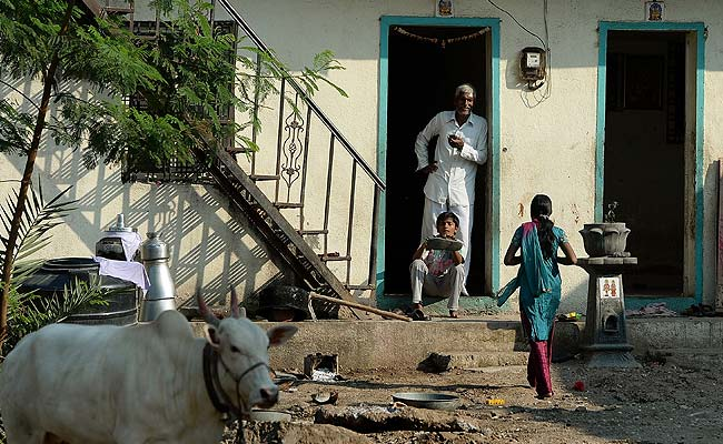 In This Village, Nobody has Front Doors. Not Even the Bank.
