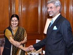 S Jaishankar Takes Charge As New Foreign Secretary