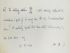 Alan Turing Manuscript Up For Auction in New York