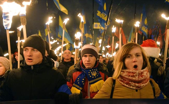 Nationalist March Shows Ukraine 'on Nazi Path': Moscow