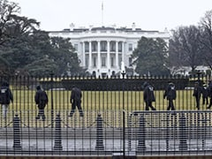Man Climbs Bicycle Rack Outside White House Grounds, Arrested