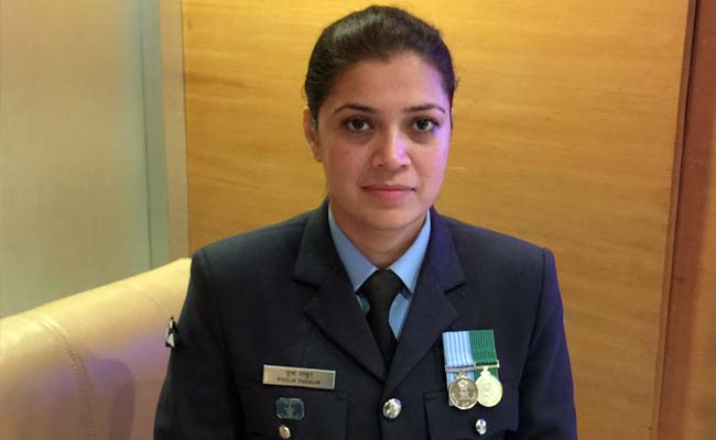 I Knew I Couldn't Look at Obama: Wing Commander Pooja Thakur