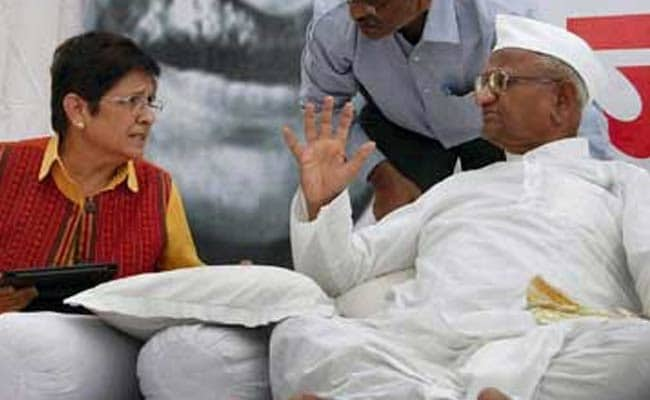 Kiran Bedi Did Not Consult Me Before Joining BJP: Anna Hazare