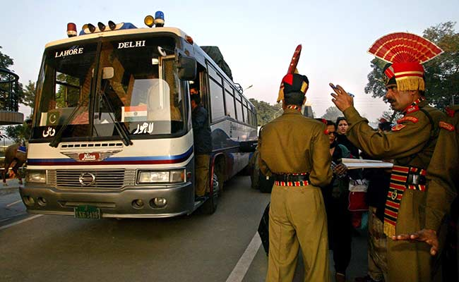 Delhi-Lahore Bus Service Restricted to Wagah Border After Terror Attack Warnings