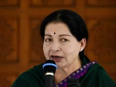 Forest College Students Stage Dharna with Jayalalithaa's Photographs