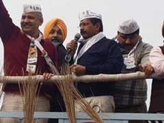 Yesterday, Huge Roadshow for Kejriwal. Today, He Becomes Candidate