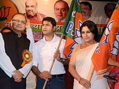 Actress Roopa Ganguly of 'Draupadi' Fame Joins BJP