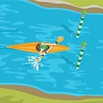 London 2012 Slalom Canoe: Google Doodle Paddles Ahead