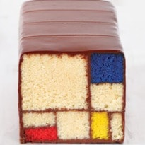 The Cake That Looks Like a Mondrian Painting