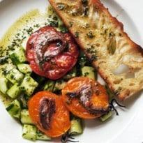 Nigel Slater's Baked Tomatoes Recipe