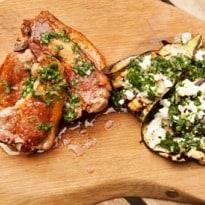 Angela Hartnett's Lamb and Aubergine With Gremolata recipe