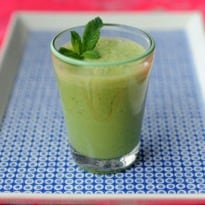 Make Your Own Melon and Ginger Lassi