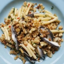 Nigel Slater's Penne With Marinated Anchovies Recipe