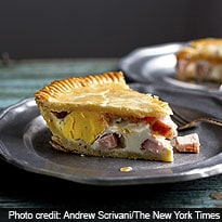 Breakfast Pie Fit for a Man