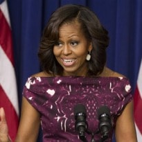 Michelle Obama Asks Media to Promote Healthy Foods