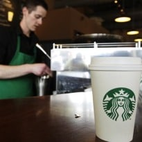 At Starbucks - Buy Coffee for Someone, Get Another Free
