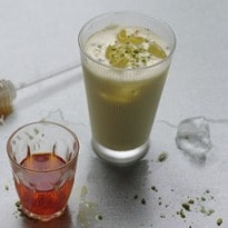 Make your own pistachio lassi | Drinks