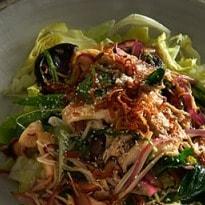 Neil Perry's recipes: Iceberg lettuce and mushroom salad