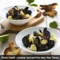 Mussels, difficult? A myth without legs