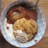 How to make the perfect plum cobbler