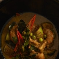 Neil Perry's recipes: green curry of prawns