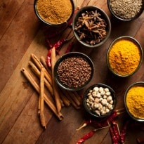 Essential spices to improve dish's flavour