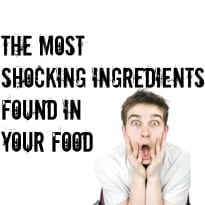 The 5 most shocking ingredients in your food