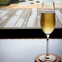 Champagne contains one million bubbles in every glass