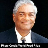 India-Born Scientist Wins the 2014 World Food Prize