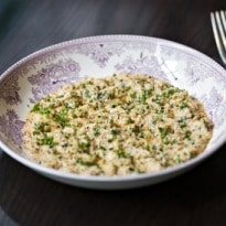 Gymkhana's Dorset Brown Crab With Butter, Garlic and Black Pepper - Recipe