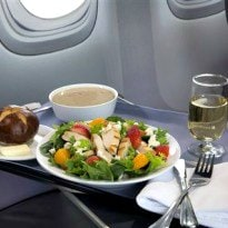 United Airlines Lures Passengers With Better Meals