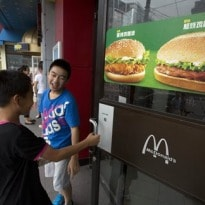 McDonald's August Sales Hurt by China Scandal