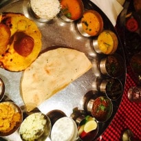 Regional Platter: The Royal Thali of Rajasthan