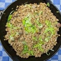 Jack Monroe's Mushroom Pearl Barley Risotto Recipe